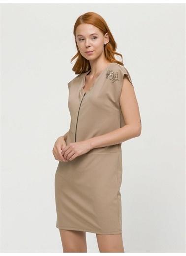 Xint Elbise Bej